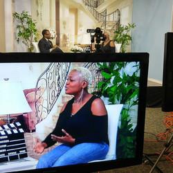 #onset #mytalkshow #ilondonfogstudios #youtube #Melodyshow #makingithappen #blessed #studio