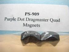 PRO SLOT-909-S Purple Dot Dragmaster Magnets