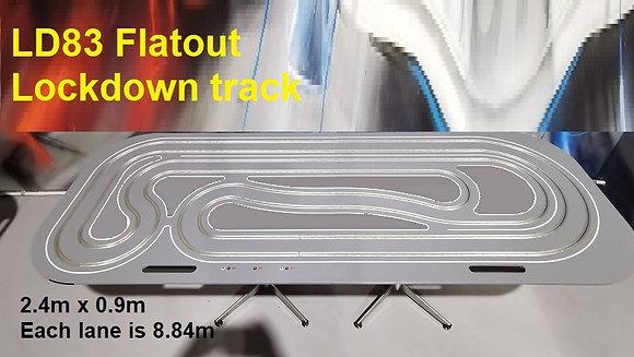 MrTrax LD83Flat - Flatout Lockdown Track