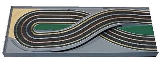 MR TRAX-4L-RX2/3 Modular 4 Lane Section - 1.2 x 3mt Long Fig.8 Bridge Section