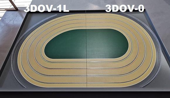 MrTrax 3DOV-10 Modular 4 Lane Oval Set - 2.4mt x 1.5mt