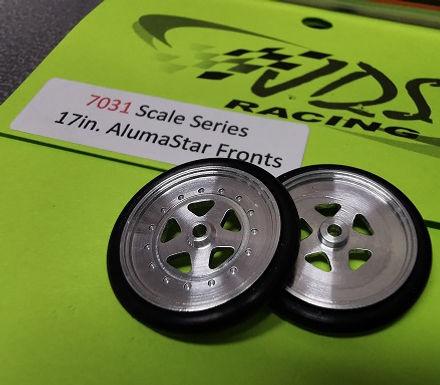 "JDS-7031 Front Wheels 17"" Scale Series AlumaStar"