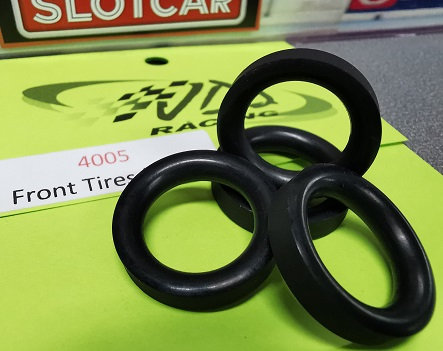 JDS-4005 Front tyres 2pr. Large flatted O-ring 17 id x 25 od x 5.25 w