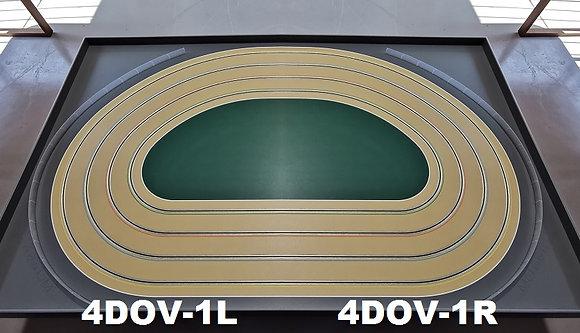 MR TRAX-4DOV-11 Modular 4 Lane Oval - 2.4mt x 1.5mt