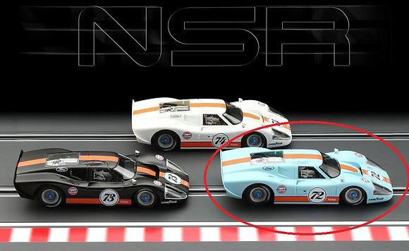NSR 0172SW Future Release Ford MK IV GULF Ltd Ed Power Blue