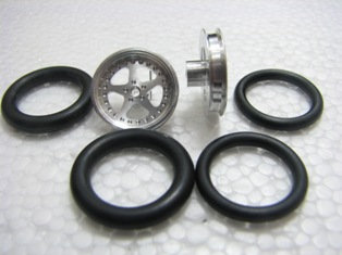 "PRO TRACK #411B 1/16 x 3/4 O-ring CNC Mach. Drag Fronts ""Star"""