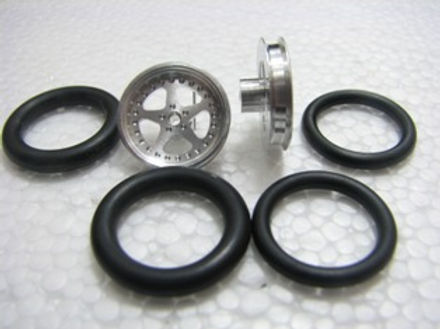"PRO TRACK-411B 1/16 x 3/4 O-ring CNC Mach. Drag Fronts ""Star"""