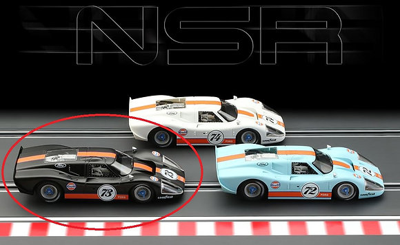 NSR-0173SW Ford MKIV Gulf Ltd Ed Semi Gloss Black