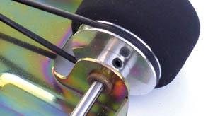 PARMA 547 Rental Car Axle Pulleys