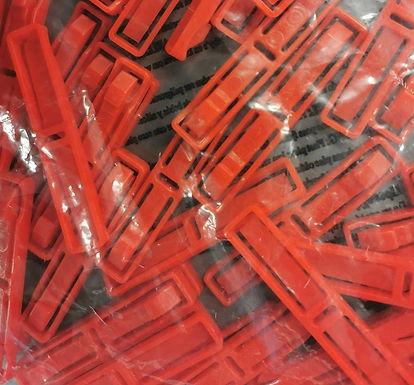 CARRERA-85245L50 Red Multi Track Connector (50+ Pcs)