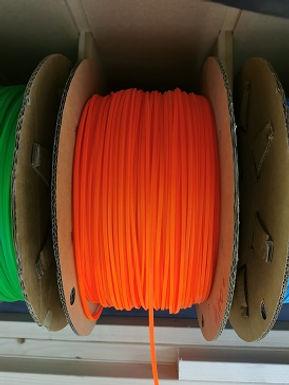 MR SLOTCAR-LCORANGE 4.0mm x 2.0mm Lane colour strips