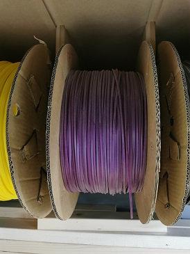 MR SLOTCAR-LCPURPLE 4.0mm x 2.0mm Lane colour strips