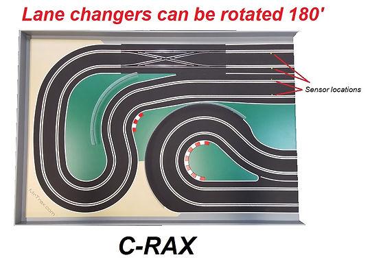 MR TRAX-C-RAX Digital Track with Double Lane Change