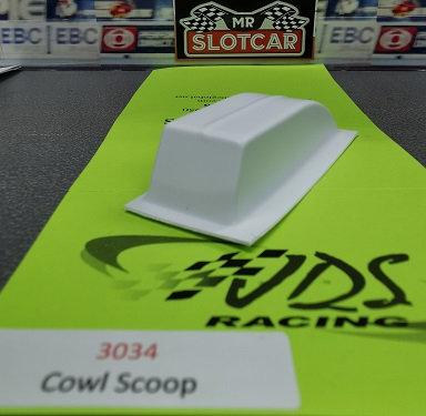 JDS 3034 Cowl Scoop (Styrene)