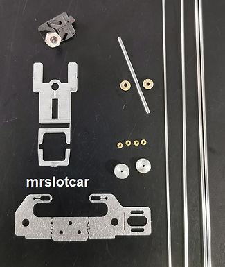 MR SLOTCAR-MRS-DAWP Drag Angle Wind Plus Chassis Kit