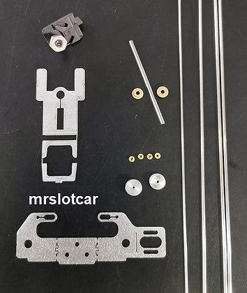 MR SLOTCAR MRS-DAWP Plus Kit - Drag Angle Wind Plus Chassis Kit