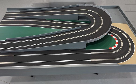 MrTrax 2L-RX Modular 2 Lane Section - 1.2 x 2.0mt Flyover End Section