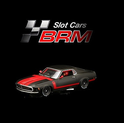 BRM/TTS 119 MUSTANG BOSS 302 1969 - BRM BLACK EDITION