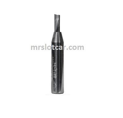 "CARBITOOL-T204S 1/8"" Single Flute Solid Carbide Router Bit"