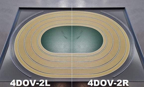 MrTrax 4DOV-22 Modular 4 Lane Oval - 2.4mt x 1.5mt