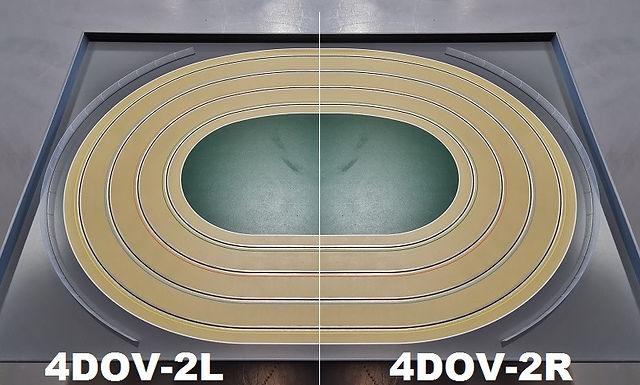 MR TRAX-4DOV-22 Modular 4 Lane Oval - 2.4mt x 1.5mt