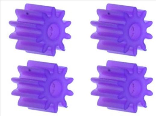 PLAFIT-8501C Plastic Pinions 10T (4/bag)