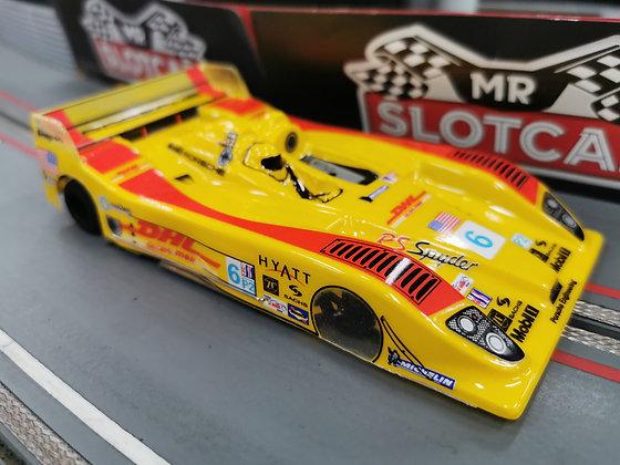 "JK O1B107BU1 Rtr - 4"" C21 M25 1/8""Porsche RS Spyder Custom Paint 0.010"" #6"