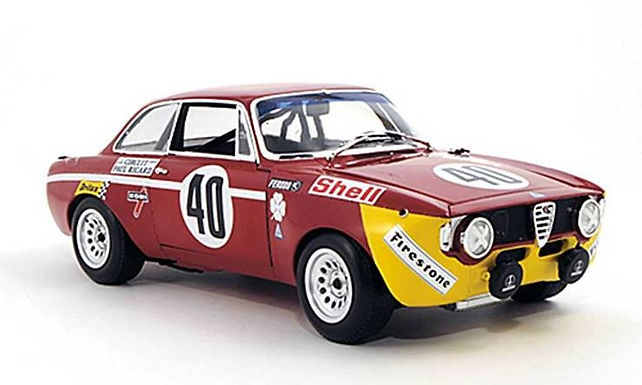 BRM/TTS-106 Alfa Romeo GTA 1300 Junior #40 12hr Paul Riccard