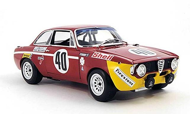 BRM/TTS 106 Alfa Romeo GTA 1300 Junior #40 12hr Paul Riccard