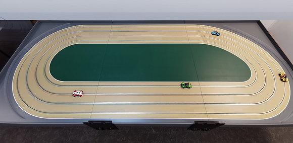 MrTrax 4DOV-01-120 Modular 4 Lane Oval - 3.6mt x 1.5mt (3 tables)