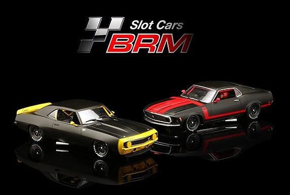 BRM/TTS-S01 Future Release Mustang BOSS 302 / Camaro Z28 1969 - LTD ED TWIN SET