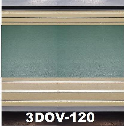 MrTrax 3DOV-120 Modular 4 Lane 120cm extension - 1.2m x 1.5mt