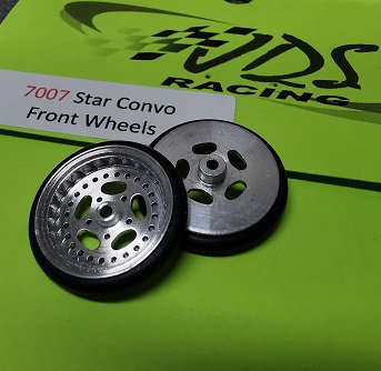 JDS 7007 Front Wheels Star Convo (3/4 dia.)