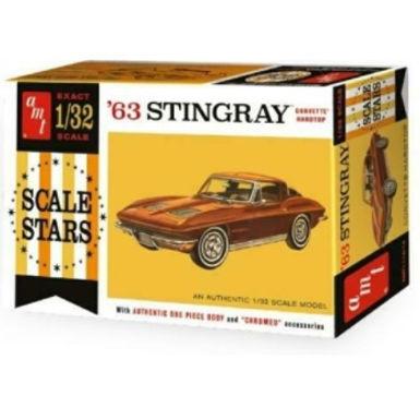 AMT-1112 1963 Stingray Corvette Model Kit 1/32 scale