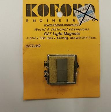 KOFORD-277L-440 Cobolt Magnets For G27 Lights
