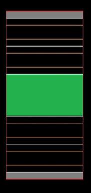MR TRAX-2L-Q Modular 2 Lane Section - 1.2 x 0.6mt Short Straight