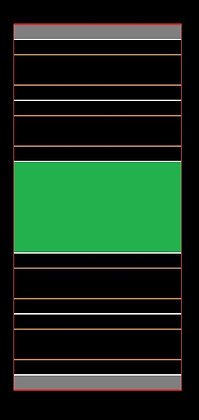 MrTrax 2L-Q Modular 2 Lane Section - 1.2 x 0.6mt Short Straight