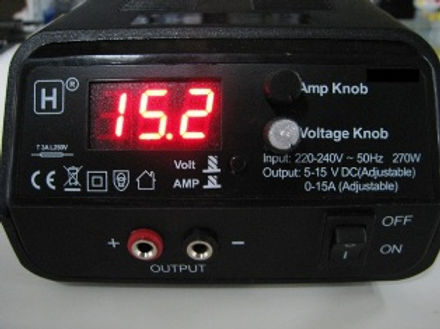 HOP WO INT-1288 Power Supply 5-15VDC (0-15 amps adjustable)