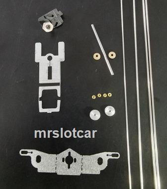 MR SLOTCAR-MRS-DINFP Drag Inline Flat Plus Chassis Kit