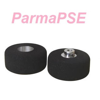 "PARMA 70710 1/8"" Axle X .960"" Diameter X .500"" Wide Smoothie Tyres (Pair)"