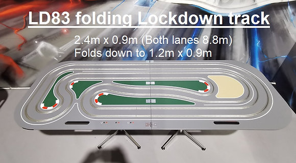 MrTrax LD83Fold - Folding Lockdown Track