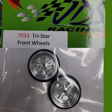 JDS-7033 Tri-Star Front Wheels