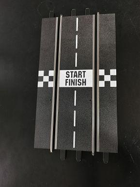 CARRERA-START Start/Finish Straight (1 piece) - LOOSE