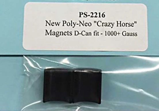 PRO SLOT-2216 Crazy Horse Poly Neo Magnets for D-Can 1000+ gauss