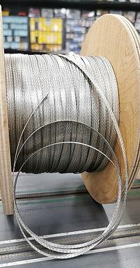 MR SLOTCAR-TCB6 6mm Tinned Copper Track Braid