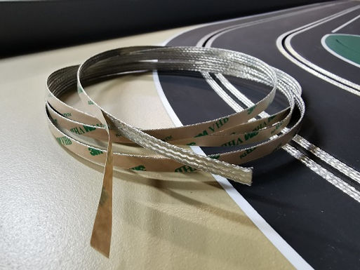 MR SLOTCAR-TCB6SA 6mm Self Adhesive Tinned Copper Track Braid