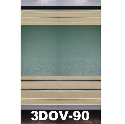 MrTrax 3DOV-90 Modular 4 Lane 90cm extension - 0.9m x 1.5mt