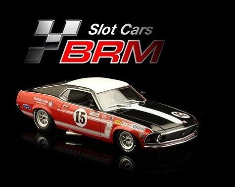 BRM/TTS 117 Future Release MUSTANG BOSS 302 1969 - Bud Moore Team #15