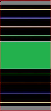 MR TRAX-4L-Q Modular 4 Lane Section - 1.2 x 0.6mt Short Straight
