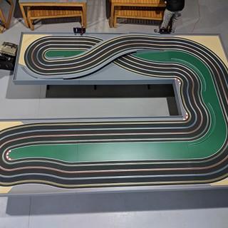 Mr Trax 4 Lane modular track